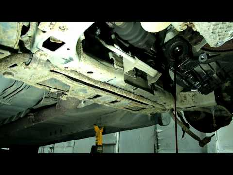 Automatic Transmission Removal