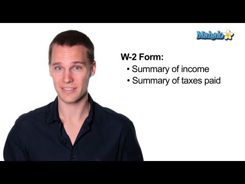 How to File Your Taxes - W-2 Form