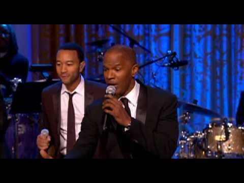 IN PERFORMANCE AT THE WHITE HOUSE | Jamie Foxx and Opening Medley