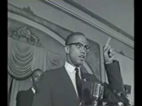 MALCOLM X: We are in the majority, the whole dark world is in unity