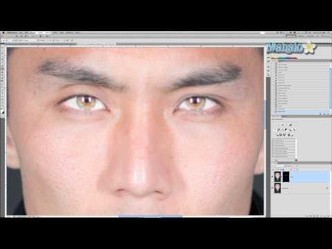 Photoshop Tutorial - Brightening Eyes