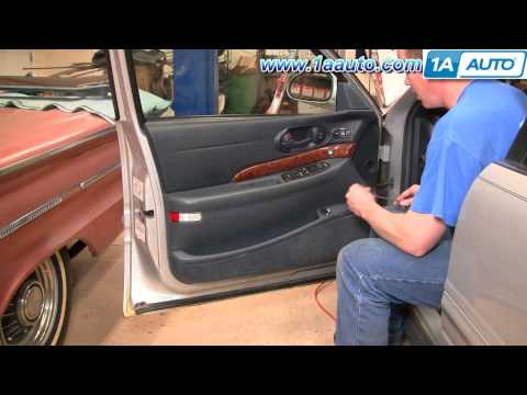 How To Install Replace Power Window Switch Buick LeSabre 00-05 1AAuto.com