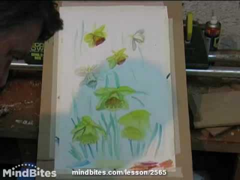Flower painting-Daffodils