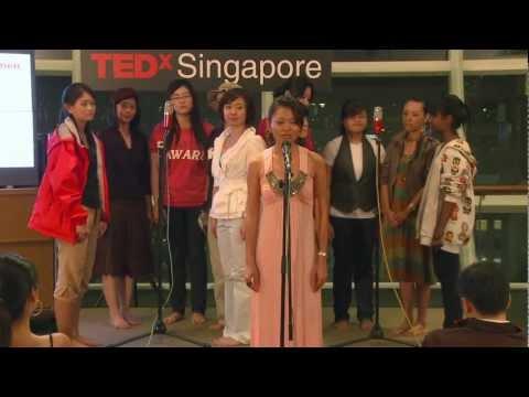 TEDxSingapore - Iris Koh - Walk in our shoes