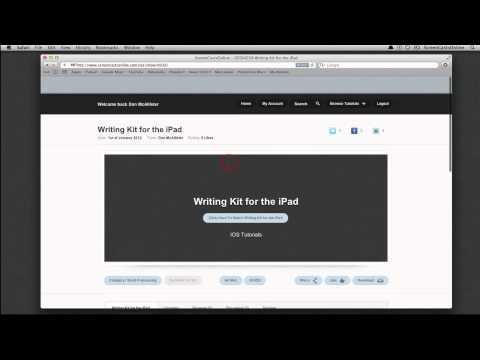 New ScreenCastsOnline Website Overview