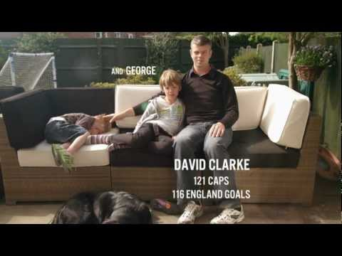 Spend 100 seconds with David Clarke Captain of the GB blind Football squad (London 2012)