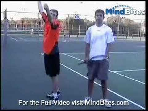 MindBites: Improve Your Tennis Serve:Basic Steps & Technique