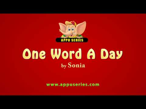 One Word A Day - Abate (HD)