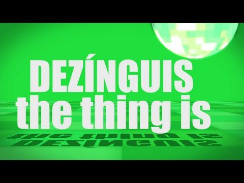 Pronunciation - #43 - The thing is (DEZÍNGUIS)
