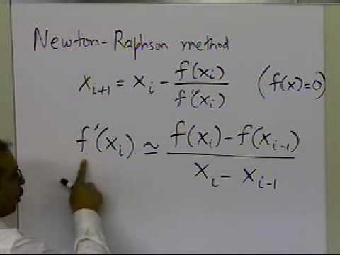 Derivation of Secant Method: Approach 1