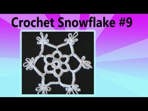 Crochet Snowflake #9