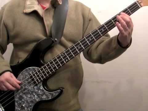how to play bass for beginners under pressure part 2