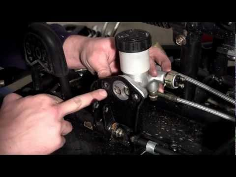 How to Build a Go Kart - 10 - Brake Master Cylinder