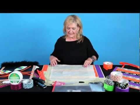 How to Make a Duck Tape Halloween Tote Bag
