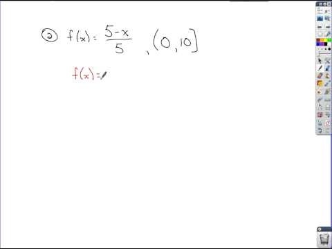 Algebra Review - Graphs of Functions