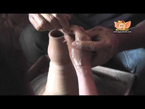 Arts & Crafts - Make a Decorative Vase (Pottery)