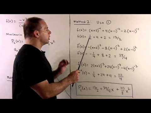 Fast Maclaurin Polynomial for Rational Function