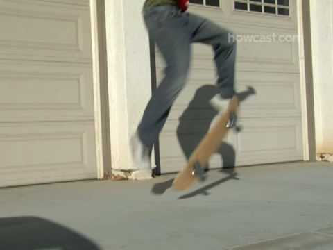How To Do a Kickflip