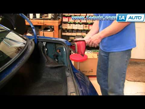 How To Install Replace Taillight and Bulb Chevy Cavalier 03-05 1AAuto.com