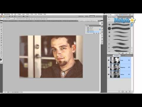 Learn Adobe Photoshop - Image Mode: Multichannel