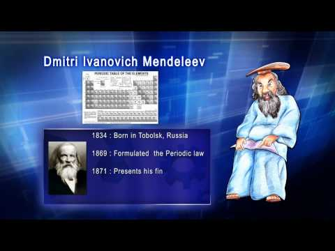 Top 100 Greatest Scientist in History For Kids(Preschool) - DMITRI IVANOVICH MENDELEEV