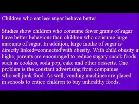 Accent Reduction Learn English Lesson #26 Sugar Children