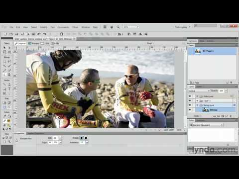 Adobe Fireworks: How to add image effects | lynda.com tutorial