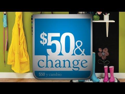 Lowe's September & October $50 & Change Suite Deals - Mud Room & Magnetic Chalkboard Wall