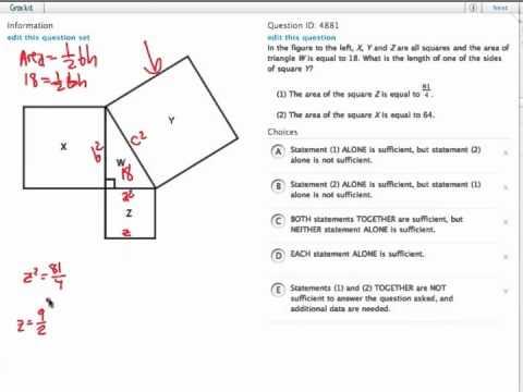 Grockit GMAT Quantitative - Data Sufficiency: Question 4881