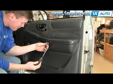 How To Install Replace Remove Door Panel Chevy S10 and GMC S15 99-04 1AAuto.com