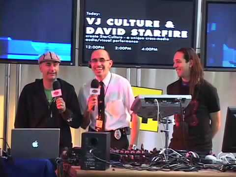 Geek Squad at Macworld - VJ Culture and David Starfire