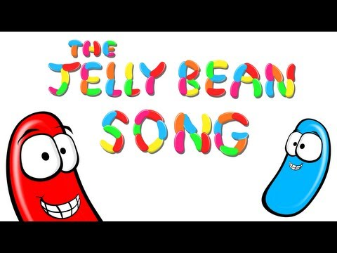 The Jelly Bean Song - Learn the Different Colors