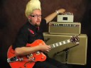 Guitar Gear Demo Fulltone Tube Tape Echo Brian Setzer sound