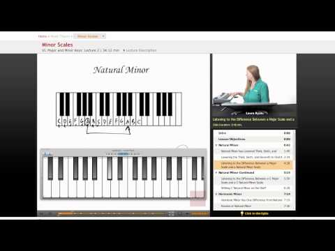 Music Theory: Minor Scales
