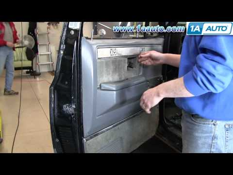 How To Install Replace Remove Door Panel 73-87 Chevy GMC pickup Truck & SUV - 1AAuto.com