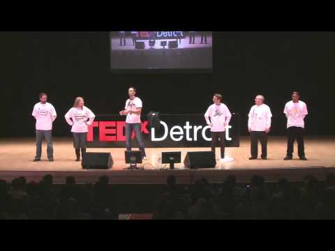 TEDxDetroit 2011 - Mark Salamango - Robot Town