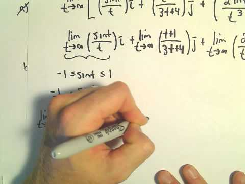 Finding the Limit of a Vector Function - Another Ex 2