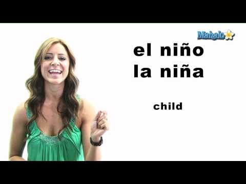 "How to Say ""Child"" in Spanish"