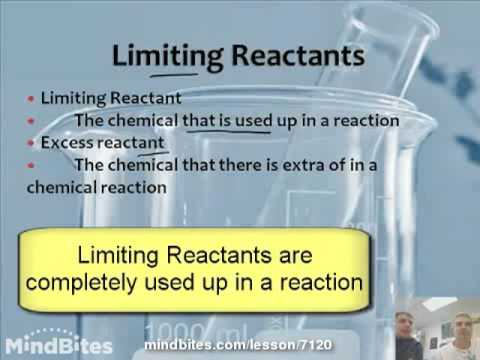 Intro to Chemistry 5.3:  Limiting Reactants