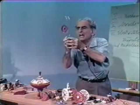 Julius Sumner Miller - Physics - Electrostatic Toys pt. 1