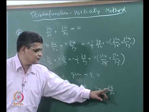 Mod-04 Lec-19 Artificial compressibility method and the streamfunction-vorticity method