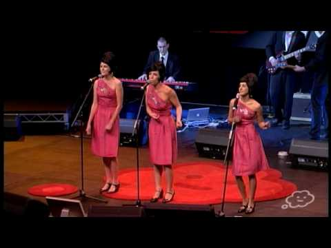 TEDxSydney - The Bonettes - 3 Ladies, 3 Beehive Wigs, 3 Pink Dresses & Some Hit Songs