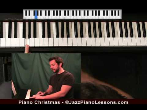 Piano Christmas DVD from JazzPianoLessons.com