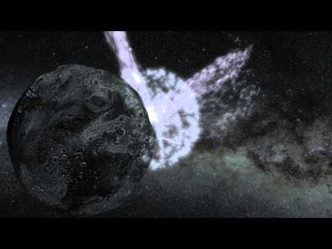 How an Asteroid Got a Rooster Tail