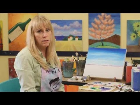 How to Paint with Acrylic Paint: Landscape Painting Tips