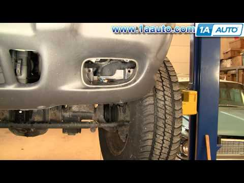 How To Install Replace Fog Light Jeep Grand Cherokee 99-04 1AAuto.com