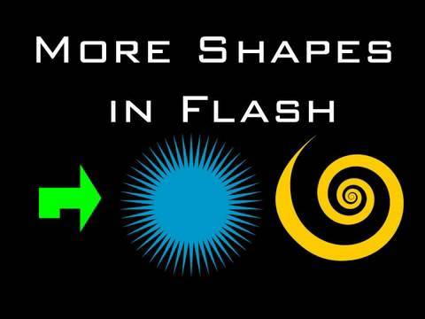 Get More Shapes For Animations or Graphics: Flash Tutorial