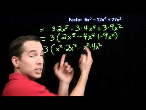 Art of Problem Solving: Factoring One-Variable Expressions
