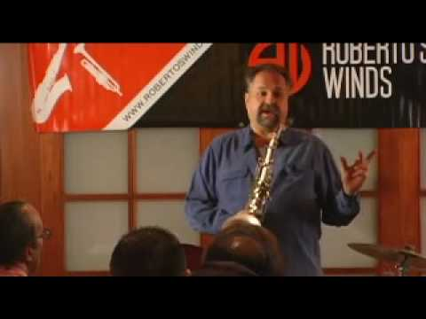 Joe Lovano Master Class - Playing Music I've Recorded