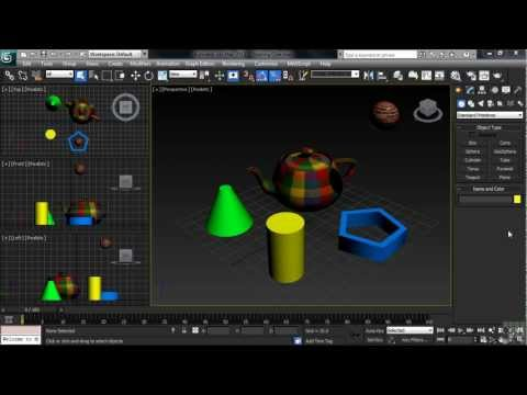 3DS Max 2013 Tutorial | Starting From Scratch - the New and Reset Commands | InfiniteSkills
